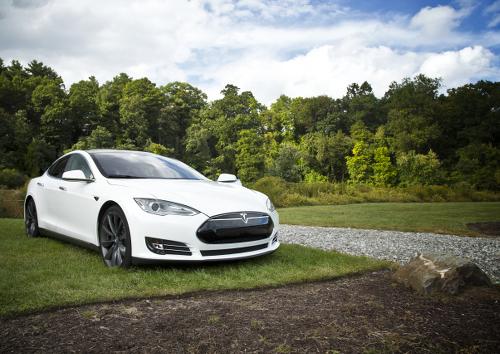Ein Vorreiter der Elektromobilität, das Model S von Tesla