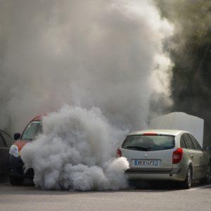 Folge eines überhitzten Motors: Rauchentwicklung durch zu hohe Belastung der Maschine