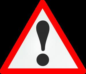 Achtung-Schild: Drohen Diesel-Fahrverbote?