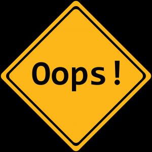 Ooops-Schild: Zu Auto-Mythen und Irrtümern im Straßenverkehr.