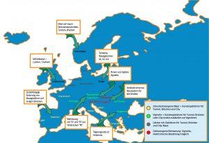 Aktuelle Mautregelung in Europa – Eine Kartendarstellung