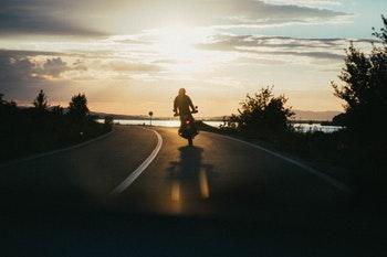 Motorradfahrer 2020