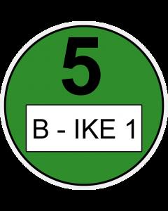 Umweltplakette für Fahrräder
