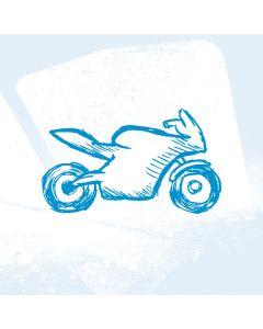 Kfz-Kennzeichen für Motorrad