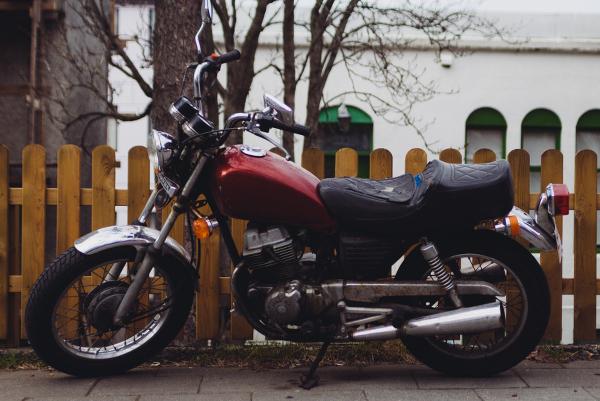 Jedes Motorrad benötigt ein Motorradkennzeichen