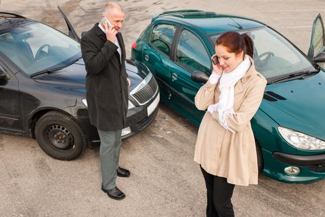 Auto-Unfall Kfz-Versicherung