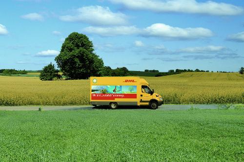 Klimafreundlicher Versand mit DHL GoGreen