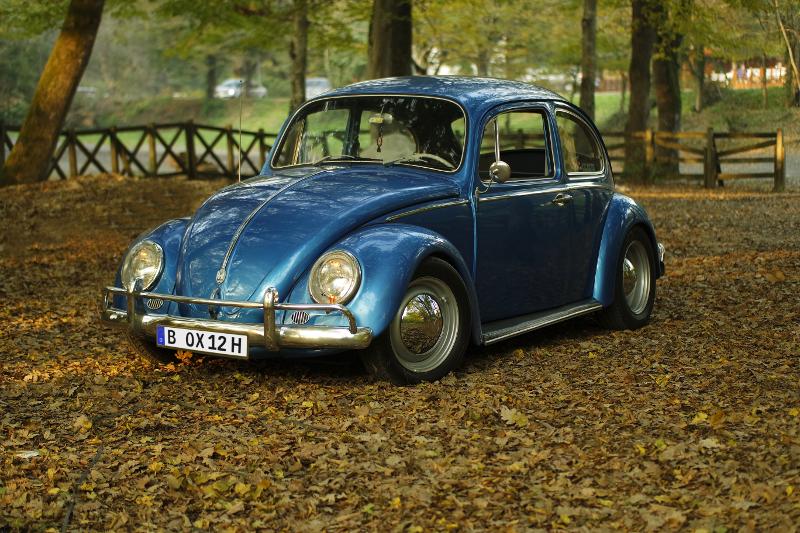 VW-Käfer mit Oldtimer-Kennzeichen