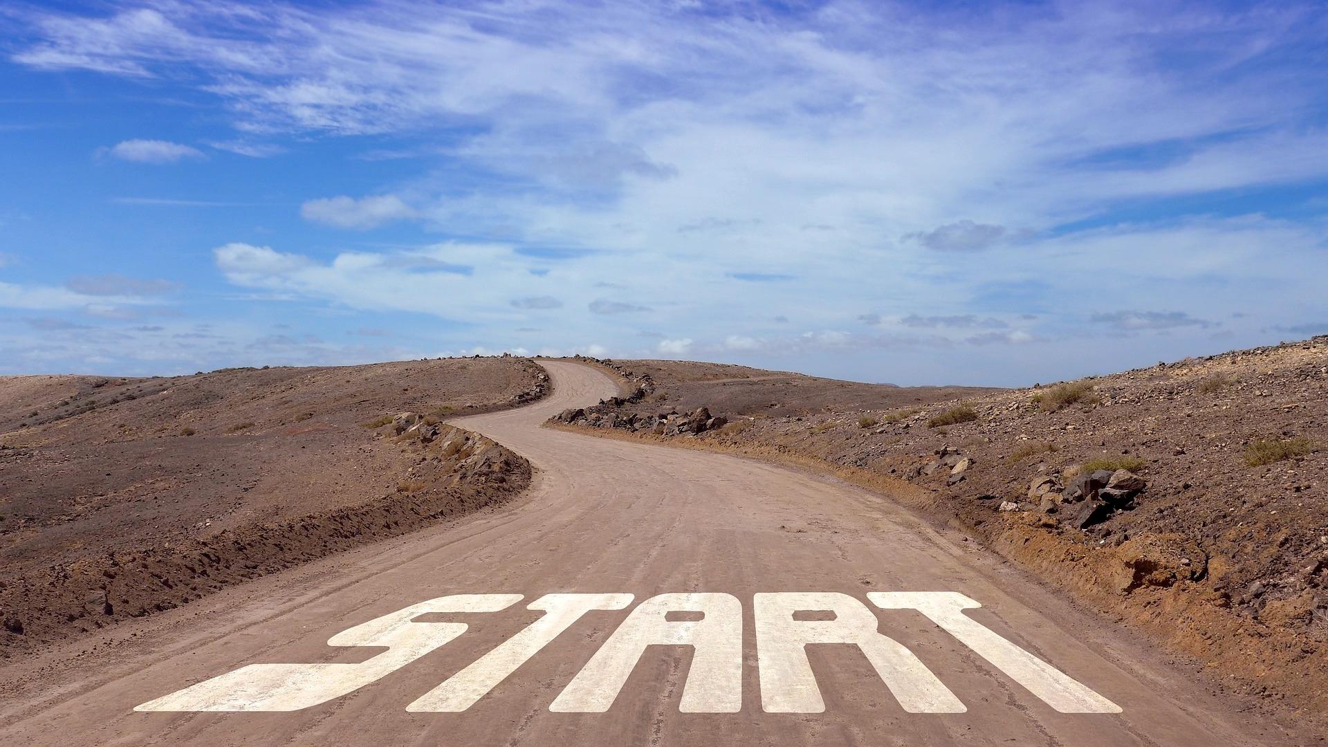Startpunkt einer Straße – der Weg zum Autokauf von privat